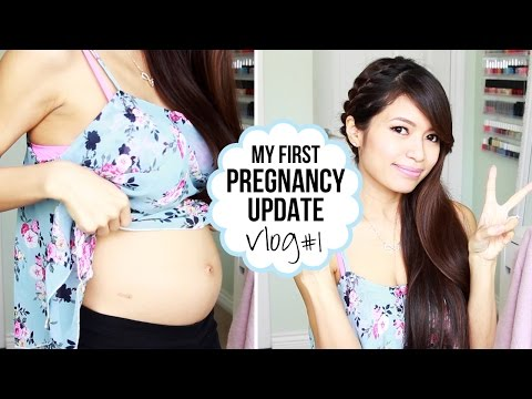 Pregnancy Vlog 1 ♥ Trouble Conceiving Announcement & Baby Bump