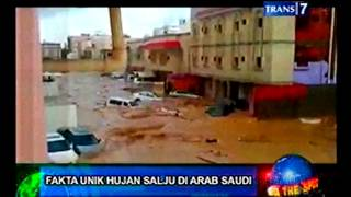 On The Spot  Fakta Unik Hujan Salju di Arab Saudi