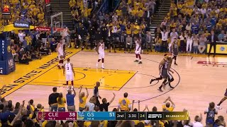 2nd Quarter, One Box Video: Golden State Warriors vs. Cleveland Cavaliers