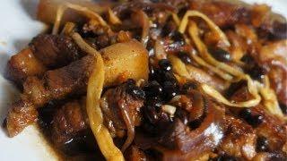 Paano magluto Pork Humba Recipe - Filipino cooking - Tagalog & English