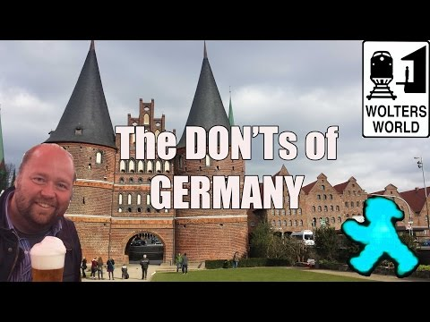 Visit Germany - The DON'Ts of
