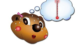 """""""I'm Hot, I'm Cold"""" (Level 1 English Lesson 12) CLIP - English Study, Learning Song, Nursery Rhymes"""