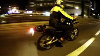 Night with Preadator DT 125R