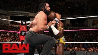 Apollo Crews vs. Elias: Raw, Oct. 9, 2017