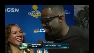 We Won, YUP - Draymond Green Interview
