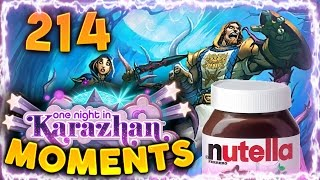 Hearthstone Karazhan Daily Funny and Lucky Moments Ep. 214 | Spreading Nutella Madness!!