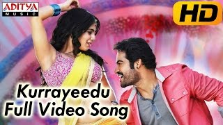 Ramayya Vasthavayya  Movie || Kurrayeedu Full Video Song || Jr.NTR,Samantha