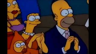 The Simpsons: The very first Simpsons episode [Clip]
