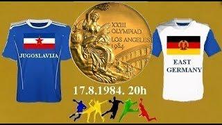 HANDBALL гандбол RUKOMET 1984 YUG FRG L.A.1984. FINALE DOLE JE LINK ZA FULL MATCH TELEKINIRANJE