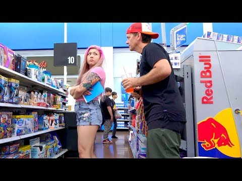 Farting at Walmart While Making Eye Contact with People THE POOTER