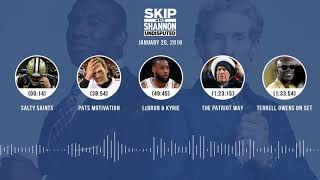 UNDISPUTED Audio Podcast (01.25.19) with Skip Bayless, Shannon Sharpe & Jenny Taft | UNDISPUTED