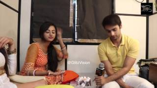 Short Chit Chat with Helly Shah and Varun Kapoor