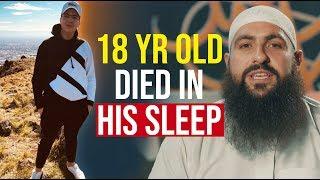 18 YEAR OLD GUEST DIES IN HIS SLEEP