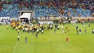 Kaizer Chiefs fans Violence at Moses Mabhida Stadium