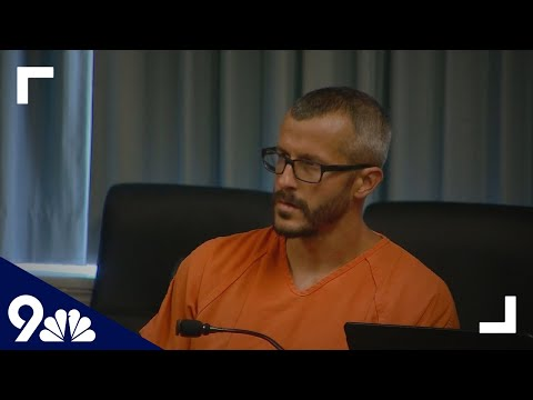 Xxx Mp4 RAW Chris Watts First Court Appearance After Allegedly Killing Pregnant Wife And Daughters 3gp Sex
