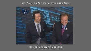 Why Tony Romo is already the GOAT of commentators