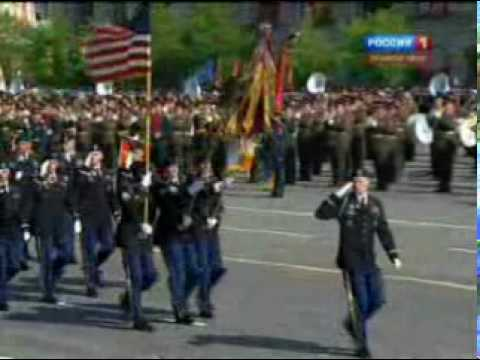 watch US Military Marches At Red Square - Victory Day Parade in Moscow 3