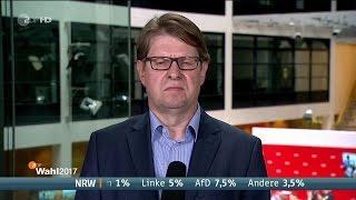 NRW Landtagswahl 2017 erste Ergebnisse und Reaktionen live im ZDF