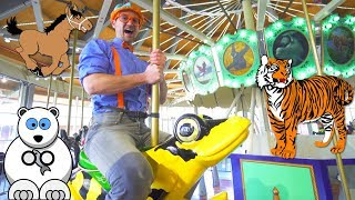 Learn Zoo Animals for Kids with Blippi | A Day at the Zoo