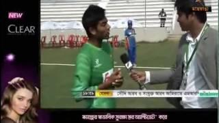 Maasranga Interview of Mehedi hasan Miraz in Under 19 World Cup 2016