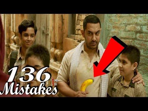 (136 Mistakes) In Dangal - Plenty Mistakes In Dangal Full movie - Amir Khan