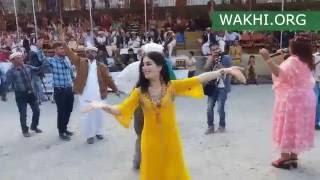 Chinese singer Laili performing Wakhi song in Gulmit, Gojal, Hunza