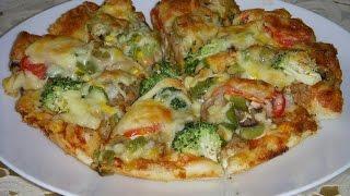 پیتزای ایرانی Iranian Pizza | Persian Pizza
