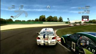 Classic Game Room - V8 SUPERSTARS RACING for PS3 review