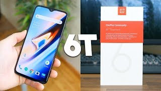OnePlus 6T Unboxing and First Impressions