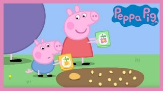 Peppa Pig - Peppa and George's Garden (Full Episode)