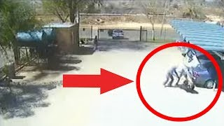 Robbery in South Africa Caught on Tape