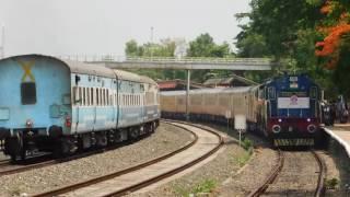 GOA Tejas Express Crossing GOA Jan Shatabdi Express : Konkan Railways
