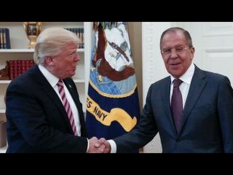 Trump meets with Russia s top diplomat amid Comey s firing