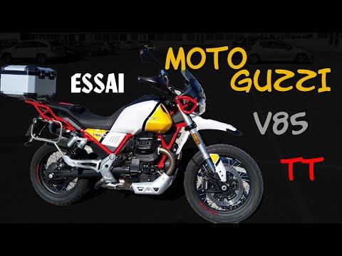Fabike Essai MotoGuzzi V85 TT Déroutante et rassurante