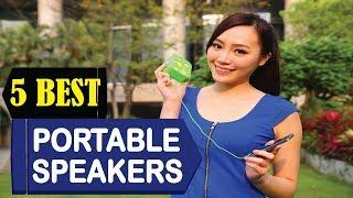 5 Best Portable Speakers 2018   Best Portable Speakers Reviews   Top 5 Portable Speakers