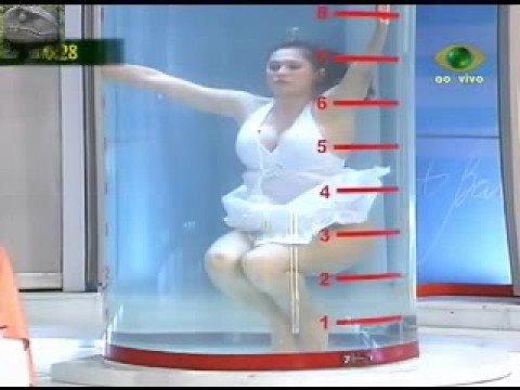 Livia Andrade Bikini Sex Prova do Tubo TV - Parte 1