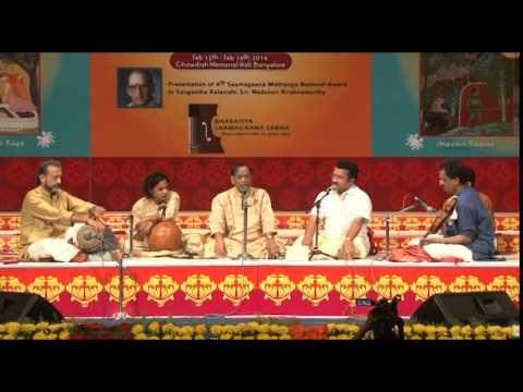 2014 - Concert by Dr. M Balamuralikrishna (Carnatic Vocal) - Part One