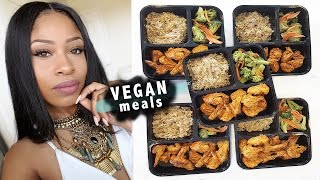 HOW TO MEAL PREP LIKE A BOSS! | 5 days of vegan meals