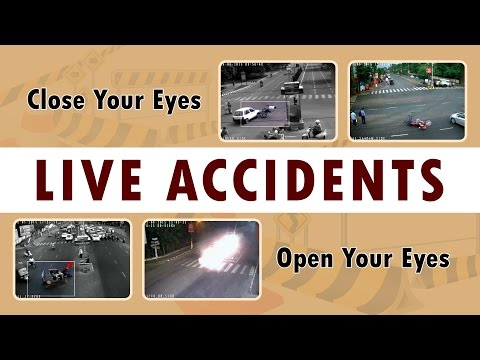 Live Accidents - Thrilling Video - Indian Road Accidents