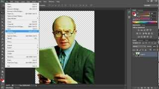 How to Make Transparent Background in Photoshop CS6