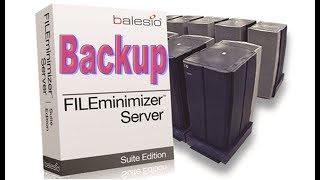 New server solution - accelerate backup