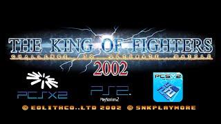 Descargar The King of Fighters 2002 version PS2 en PCSX2 Configuracion a 60 FPS Emulacion 100%