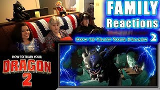 How to Train Your Dragon 2 | FAMILY Reactions | Fair Use