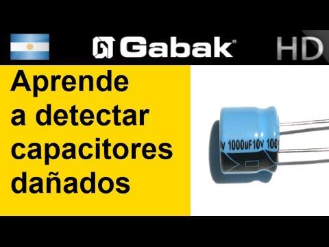 Aprende a detectar Capacitores que están dañados y porque revientan