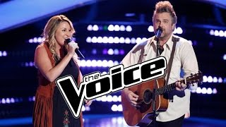 The Voice 2015 Blind Auditions Pt. 3 - Singing Couple Gets Engaged