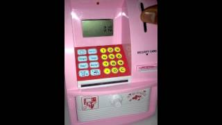 Cara-cara menggunakan mesin ATM kanak-kanak