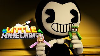BENDY EATS LITTLE KELLY AND TINYTURTLE!? - Little Minecraft # 11