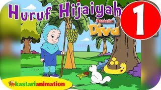 Huruf Hijaiyah bersama Diva (full version) | part 1 | - Kastari Animation Official