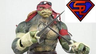 Teenage Mutant Ninja Turtles 2014 Threezero Raphael 1/6 Scale Collectible Movie Figure Review