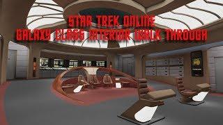 Galaxy Interior & Discovery Uniform | Star Trek Online | Walk Through